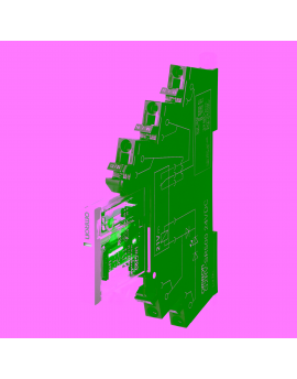 G2RVSR500ACDC24BYOMB   SPDT 6A Rel? Borna+Base Push-in+ 24Vca/cc  O-E