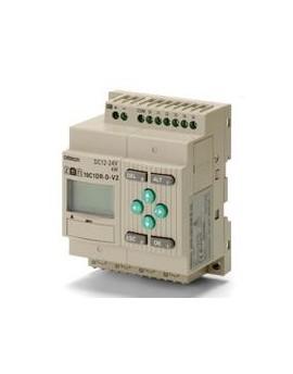 ZEN10C1DRDV2.1   CPU 6/4 Ent. DC Sal. relé LCD RTC 24 DC  O-E