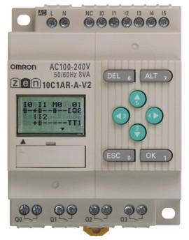 ZEN10C1ARAV2.1   CPU 6/4 Ent. AC Sal. rel? LCD RTC 240 AC  O-E