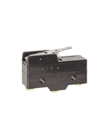 Z15GW21B   Palanca corta resorte Tornillo  15A 0,5mm  O-E