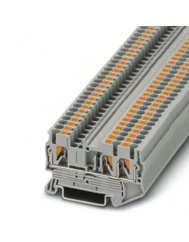 PT 2,5-TWIN     Borne de paso, Tipo de conexion:Conexion push-in, Seccion:0,14