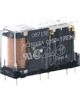 G7SA2A2B24DC    Rele SEGU DPST-NA DPST-NC 4 polos 6A 24Vcc  SEGU-G  Productos de