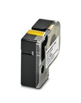 MM-EMLF (EX24)R C1 YE/BK     Etiqueta muy flexible, sin fin, cartucho, amarillo