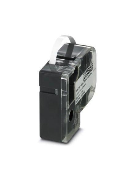 MM-TMT (EX9,5)R C1 WH/BK     Label, continuous, cassette, transparent with black