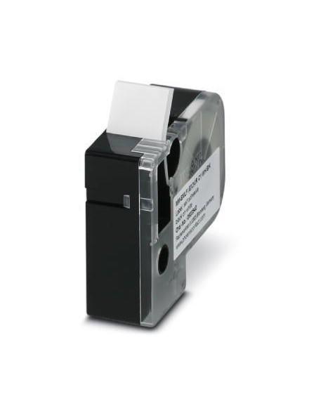 MM-EMLF (EX24)R C1 WH/BK     Etiqueta muy flexible, sin fin, cartucho, blanco co