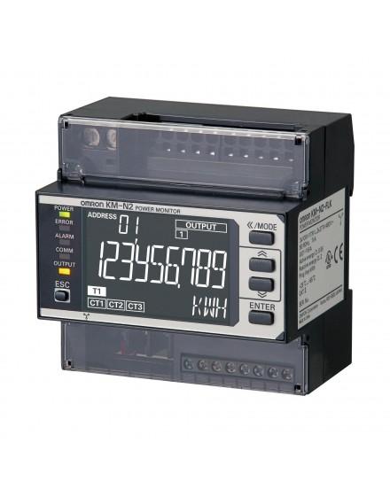 KMN2FLK   Medidor de energða Multicircuito Display LED Push-in+  O-A