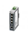 FL SWITCH SFNB 5TX     Switch Ethernet, 5 puertos TP-RJ45, deteccion automatica de la velocidad de transmision de datos de 10 o