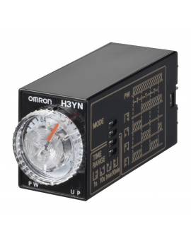 H3YN2AC100120      DPDT 0.1s-10min 100/120Vca  H3Y  COMC-E  ESTANDARSI