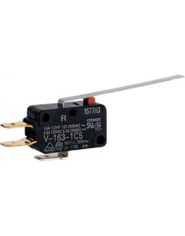 V1631C5R   Palanca larga SPDT Term. Faston (250)  O-A