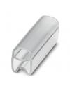 PATG 2/15     Soporte para señalizacion de conductores, transparente, sin rotular, Tipo de montaje: prolongar, Diametro de cable